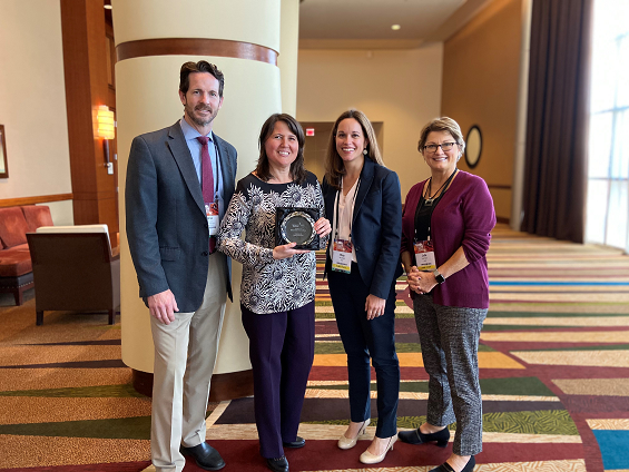 2019 CiM Excellence in Medical Student Career Advising Awards Staff Award Winner Csilla Kiss, MA