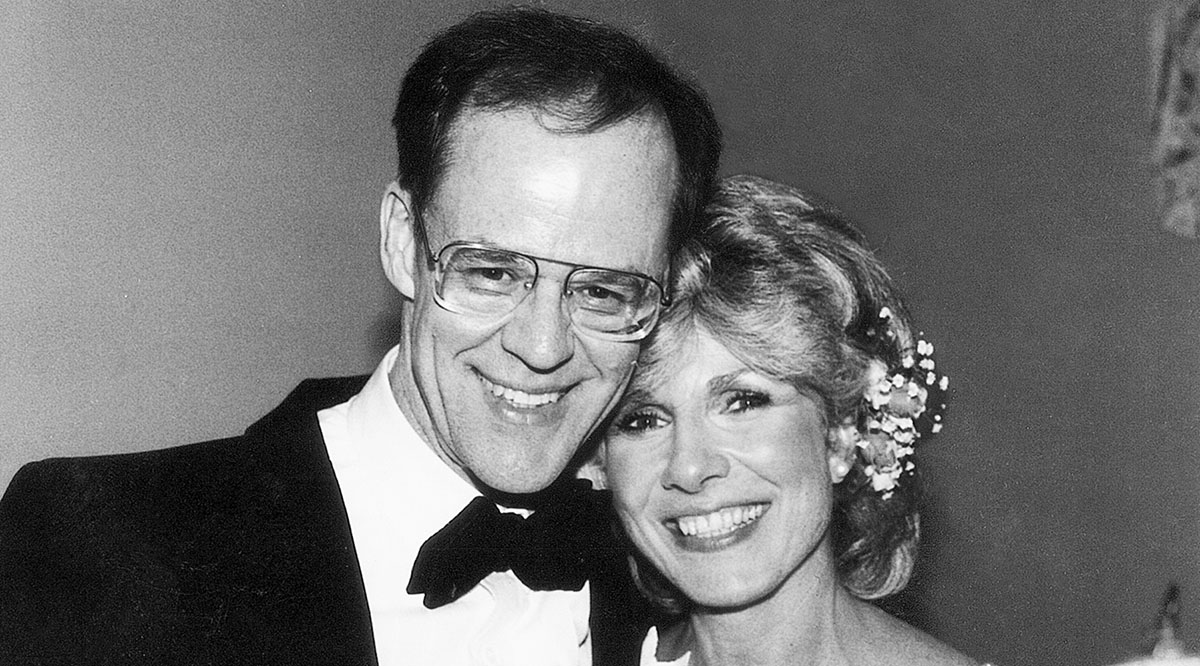 John and Diane Rehm on their 25th wedding anniversary in 1984. John's death is one of the reasons Rehm is fighting to ensure medical aid in dying.