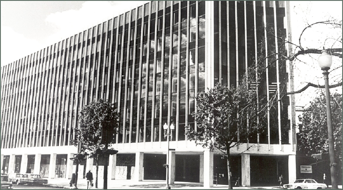 AAMC office in Dupont Circle 1970