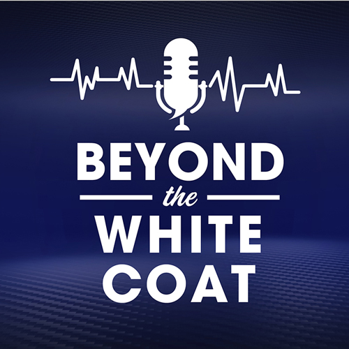 Beyond the White Coat podcast logo