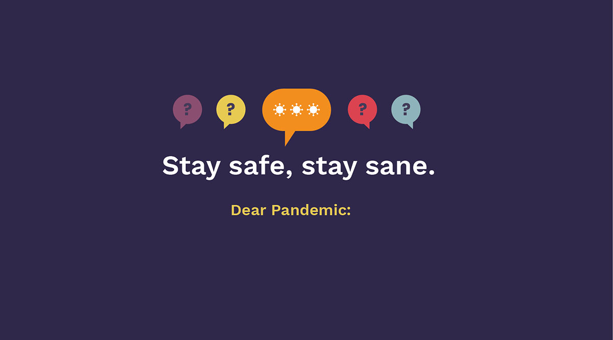 The Dear Pandemic logo