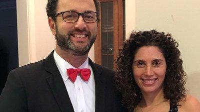Drs. Sarah-Anne and John Henning Schumann