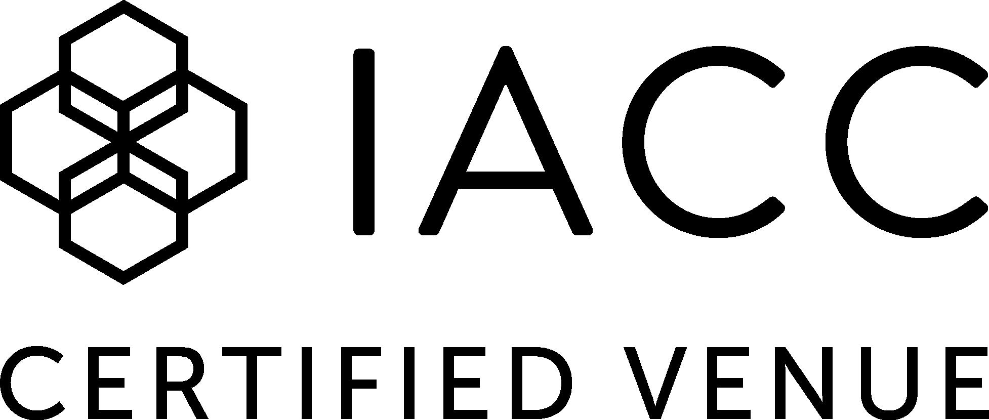 IACC Certified Venue logo
