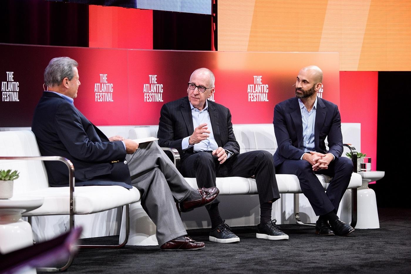 Bill Sternberg interviews David J. Skorton, MD, and Philip Alberti, PhD, at the Atlantic Festival 2019.