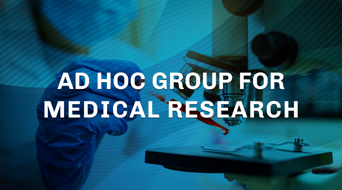 Ad hoc group for medical research