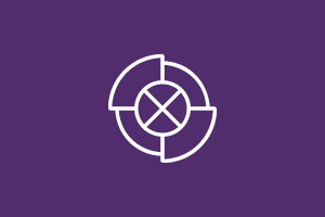 Circle with an 'x' in the middle