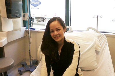 Alejandra Casco initially received immunotherapy to treat her Stage 4 melanoma but it was not completely successful.