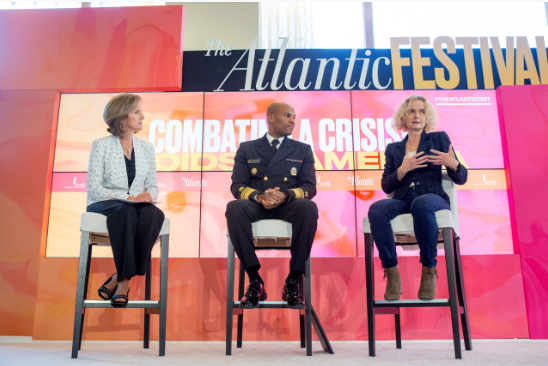 Author and journalist Kathleen Koch interviewed U.S. Surgeon General Jerome Adams and Director of the National Institute on Drug Abuse Nora Volkow about treatment and interventions for substance use disorder.