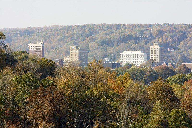 Huntington, W.Va., skyline