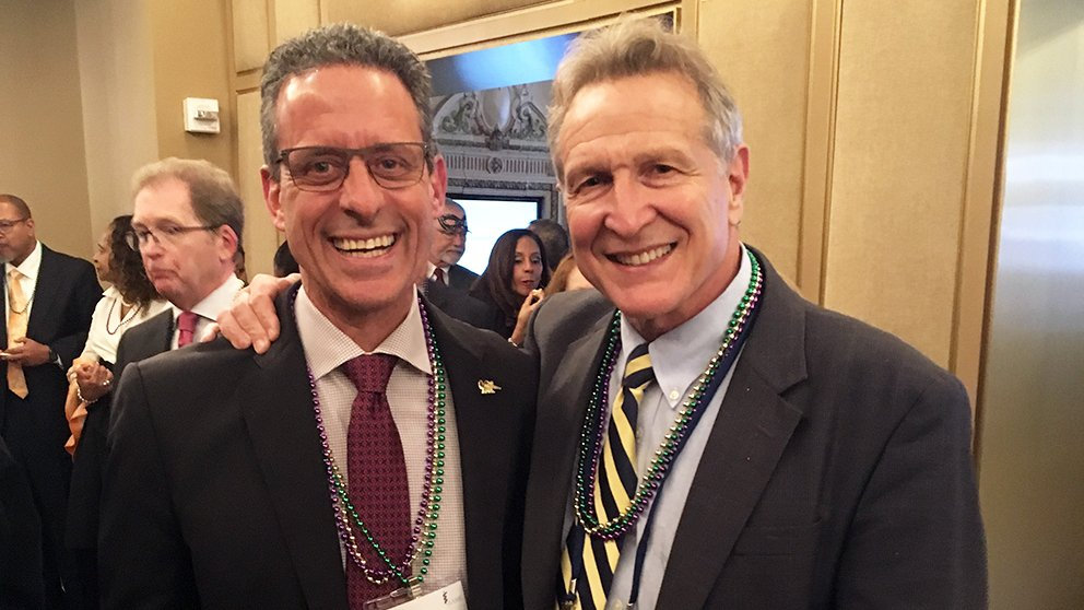 Michael Stamos, MD and Robert Sackstein, MD