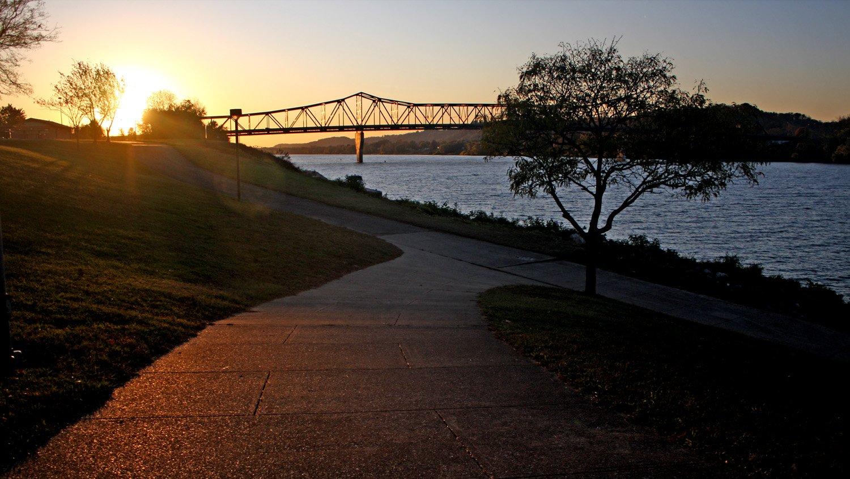 The Robert C. Byrd Bridge