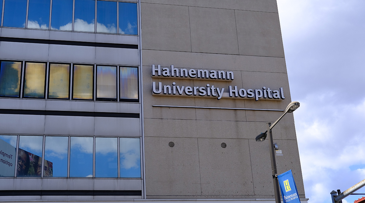 hahnemann building exterior