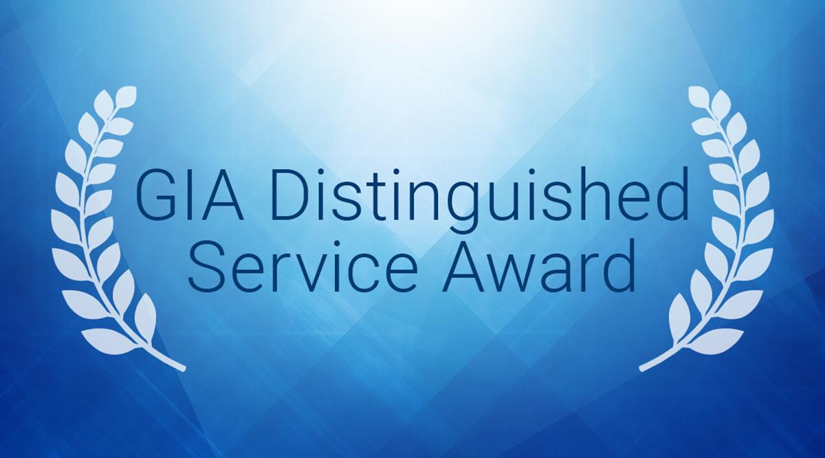 GIA Distinguished Service Award