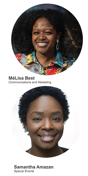 MéLisa Best and Samantha Amazan