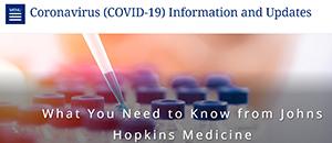 Johns Hopkins Medicine Coronavirus Site