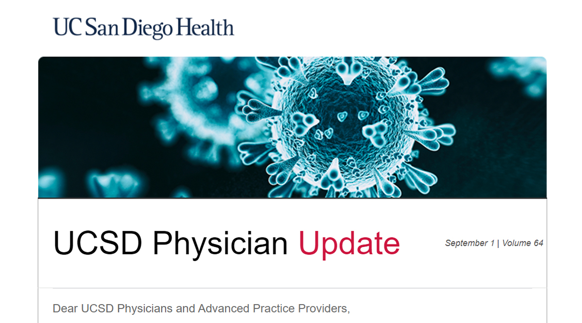 UCSD Physician Update
