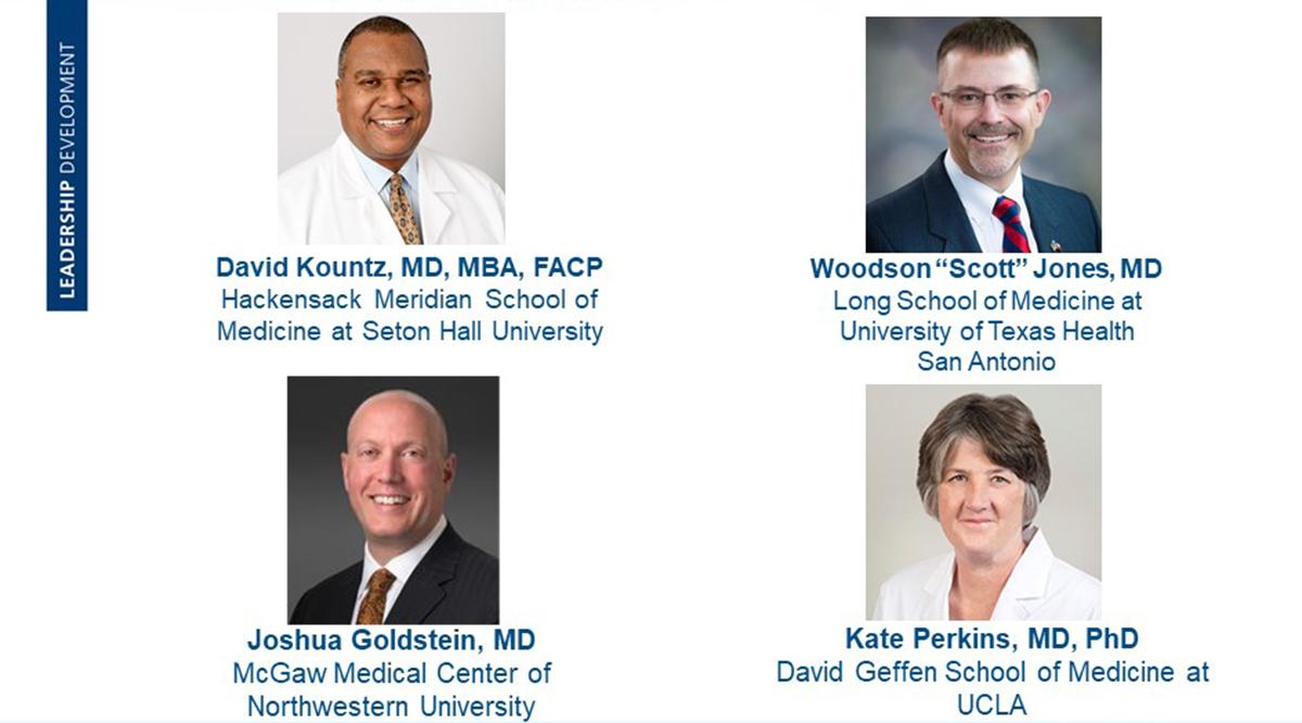 """Speakers of Turning Challenges into Opportunities: David Kountz, Woodson """"Scott"""" Jones, Joshua Goldstein, and Kate Perkins"""