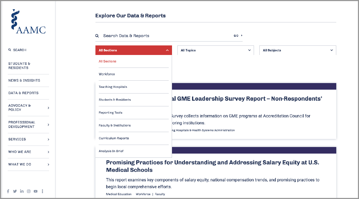 Screenshot data and reports feature