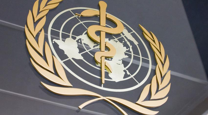 The World Health Organization (WHO) emblem is displayed on its headquarters building in Geneva, Switzerland. The WHO is collecting information on individual countries' responses to the COVID-19 pandemic since spring 2020.