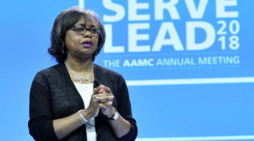 Anita Hill at Learn Serve Lead 2018