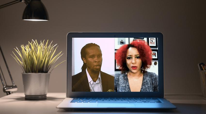 Ibram X. Kendi, PhD, director of the Center for Antiracist Research at Boston University, and Nikole Hannah-Jones, investigative journalist, speak at Learn Serve Lead 2020 on November 16.