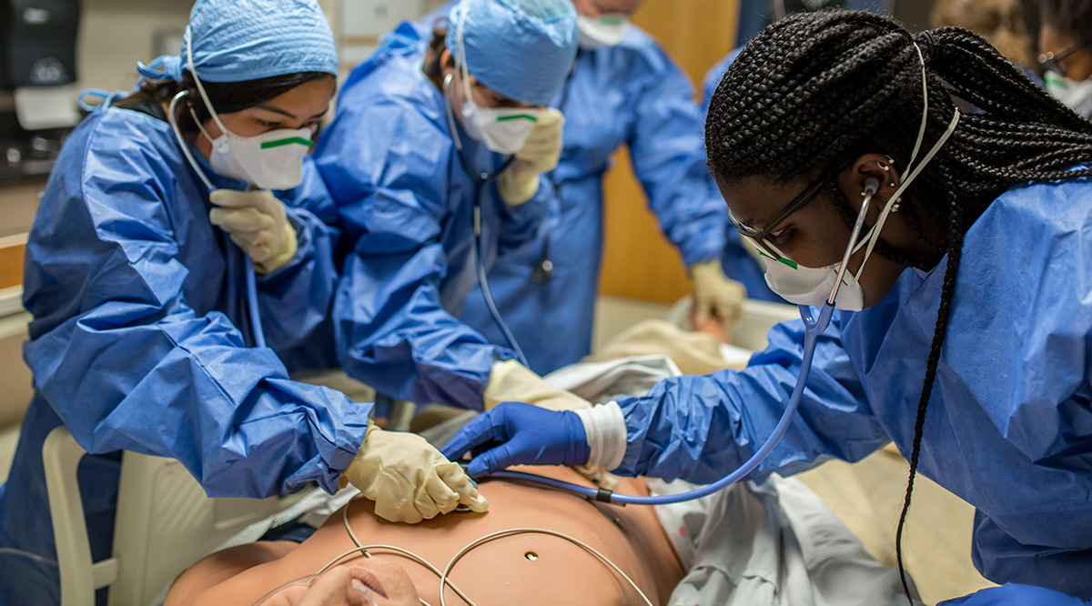 students in surgery at SHPEP University of Iowa