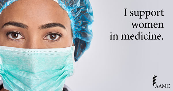 I support women in medicine