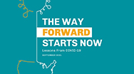 The Way Forward Starts Now: Lessons From COVID-19